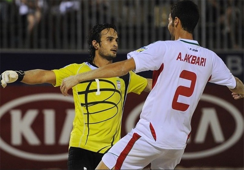 Iran's Hosseini Chosen AFC Beach Soccer Best Keeper