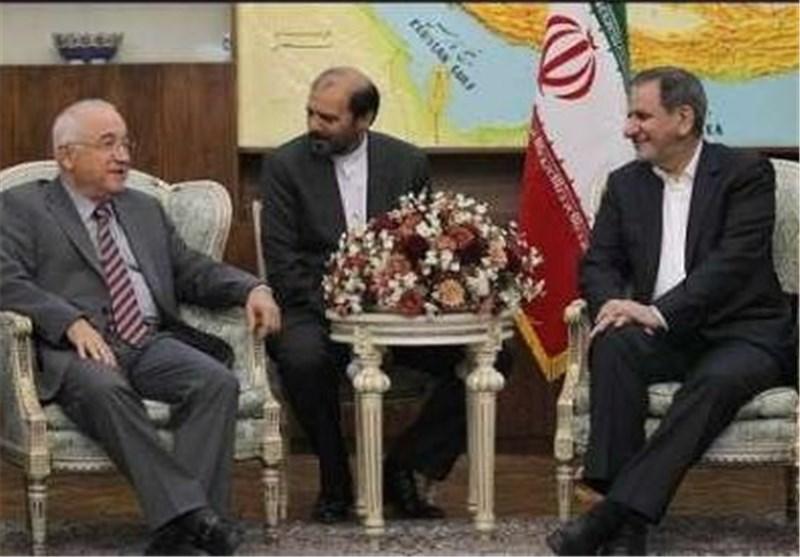 """جهانغیری یستقبل """"تشیتشک"""" ویشدد على توطید العلاقات التجاریة بین طهران وانقرة"""