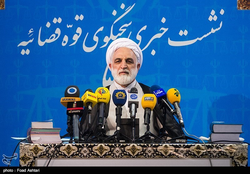 غلامحسین محسنی اژهای سخنگوی قوه قضائیه