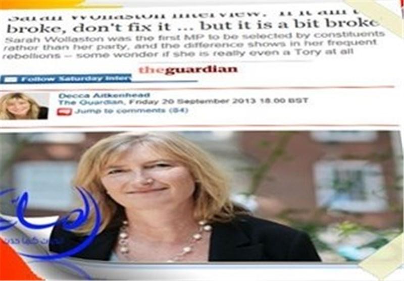نائبة بریطانیة : أمریکا ترید ضرب سوریا بسبب الکیمیاوی .. لکنها تبیعه الى السعودیة !!؟