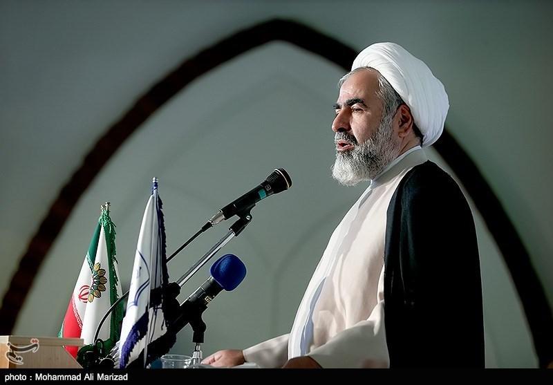 سخنرانی حجت الاسلام حسینیان رییس مرکز اسناد انقلاب اسلامی در مراسم رونمایی از 5 عنوان کتاب دفاع مقدس
