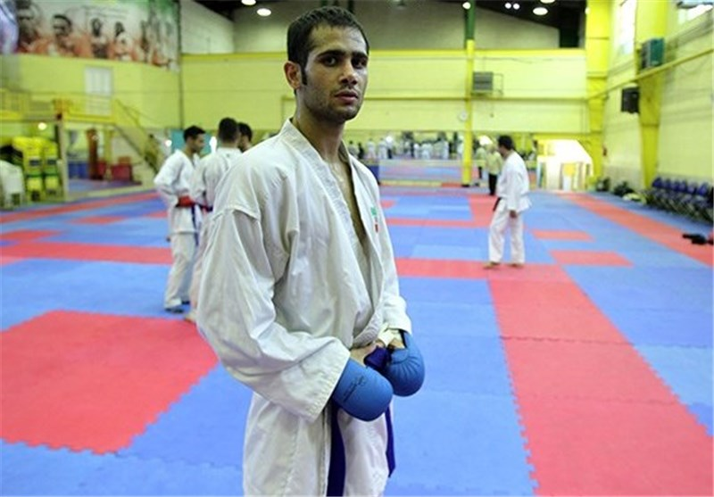 Karateka Hassanipour Seizes Iran's 17th Gold Medal in Asiad