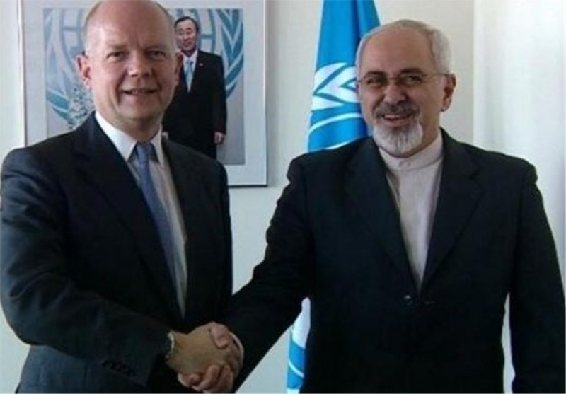 Zarif Holds Talks with British Foreign Secretary in New York