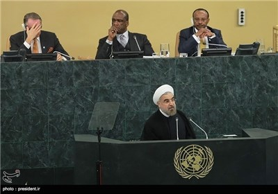 Photos: President Rouhani Delivers Speech to UN General Assembly