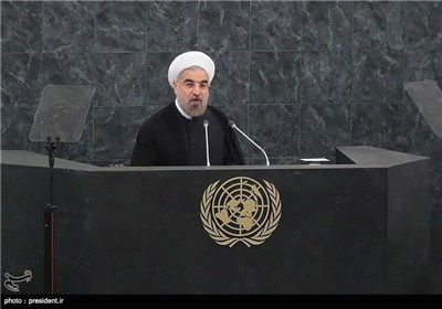 President Rouhani Delivers Speech to UN General Assembly