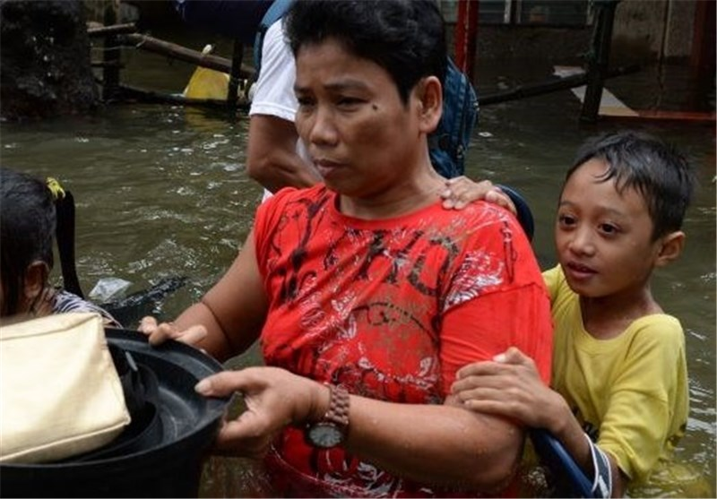 13 کشته بر اثر سیل و رانش زمین در فیلیپین