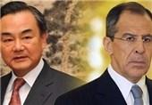 وزیران خارجه روسیه و چین