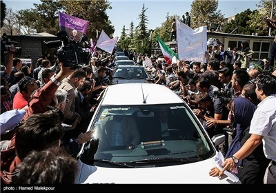 President Rouhani Returns Home
