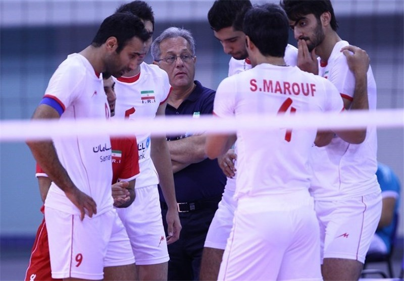 Beating Kuwait 3-Nil Takes Iranian National Volleyballers 50 Minutes