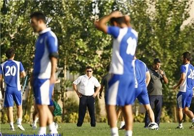 تمرین استقلال و قلعه نویی