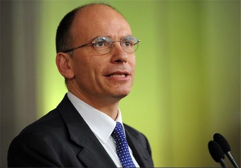 Italian PM Letta Announces His Resignation