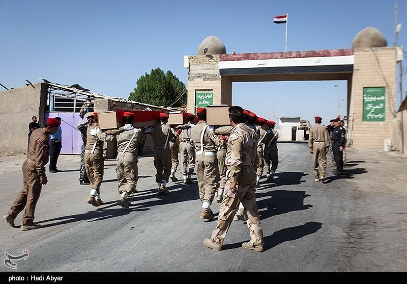 Bodies of Martyrs of Iraqi Imposed War on Iran Return Home