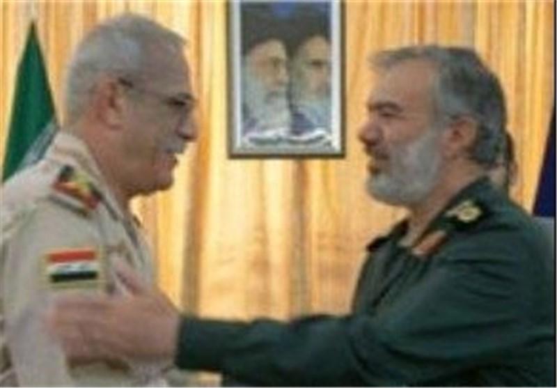 قائد سلاح البحر و نظيره العراقي