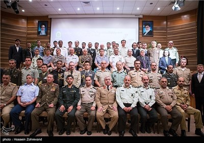 Photos: Foreign Military Attaches Visit Iranian Police Academy