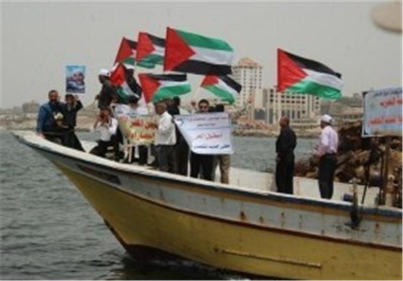 ائتلاف شباب انتفاضة الاقصى یحضر لمسیرة بحریة تخترق حاجز الستة أمیال بغزة