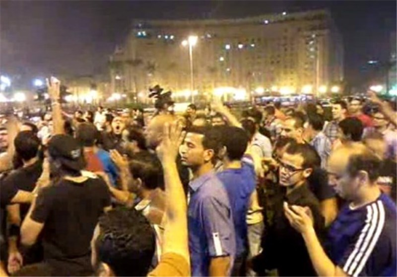 Egypt Anti-Coup Rally Held in Cairo