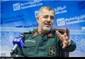 """سردار پاکپور: تهدیدات دشمنان نظام """"هیچ"""" تأثیری بر اراده ملت ایران ندارد"""