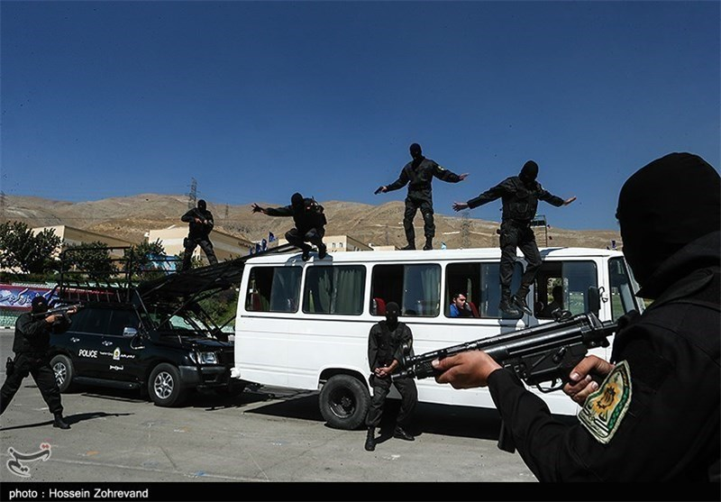 Iran Trains Foreign Police Forces