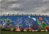 نقاشی دیواری در ساری رونق می گیرد