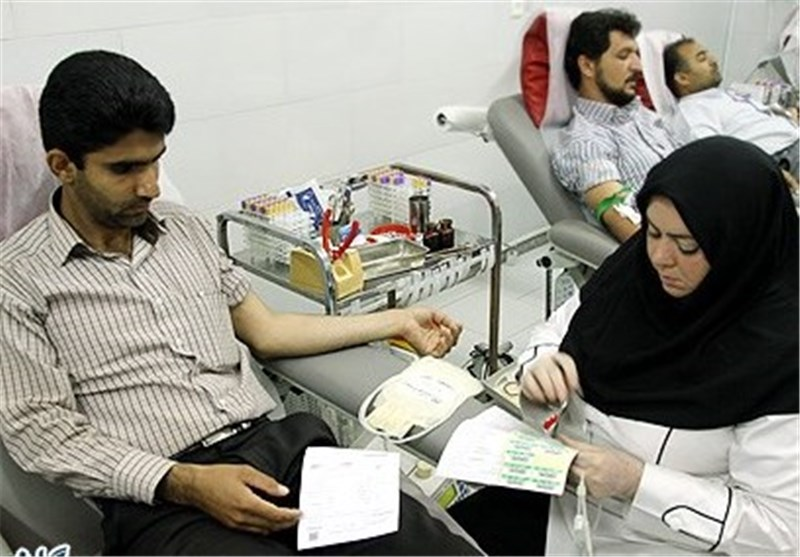 مراجعه 21110 زنجانی برای اهدای خون