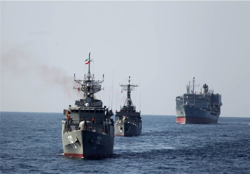 Iranian Naval Fleet Enters Atlantic Ocean