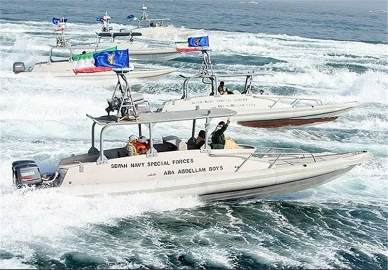 قایق های تندرو سپاه