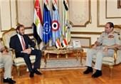وزرای دفاع عراق و اردن با السیسی دیدار کردند