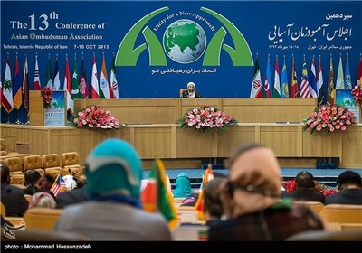 Photos: Conference of Asian Ombudsman Association Kicks Off in Tehran