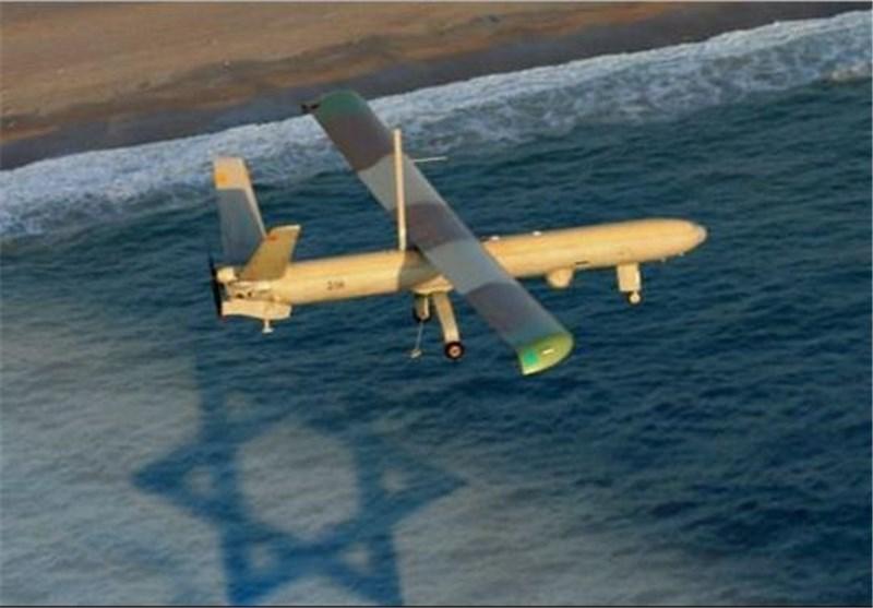 تحطم طائرة تجسس صهیونیة متطورة من دون طیار من طراز هیرمیس 450 بالبحر المتوسط