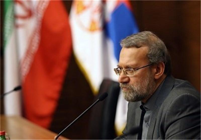 لاریجانی: علی برلمانات الدول المصادقة علی قانون حظر انتاج وتخزین أسلحة الدمار الشامل