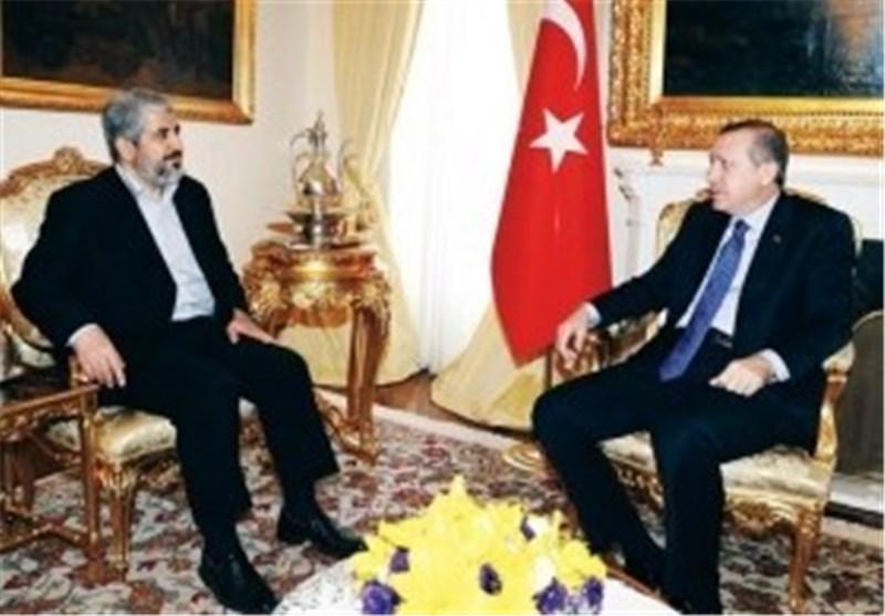 مشعل یلتقی أردوغان ویستعرض معه معاناة الشعب الفلسطینی وحصار غزة