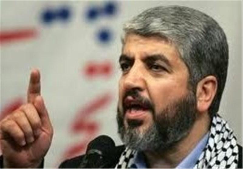 خالد مشعل:نفتخر بقدرات حزب الله والفصائل الفلسطینیة فی محور المقاومة