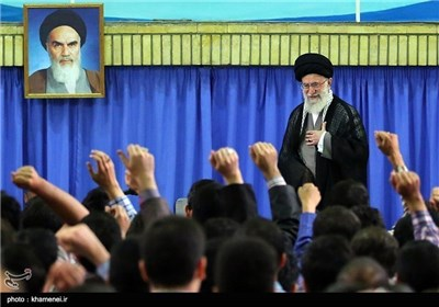 Young Iranian Elites, Top Students Meet with Supreme Leader