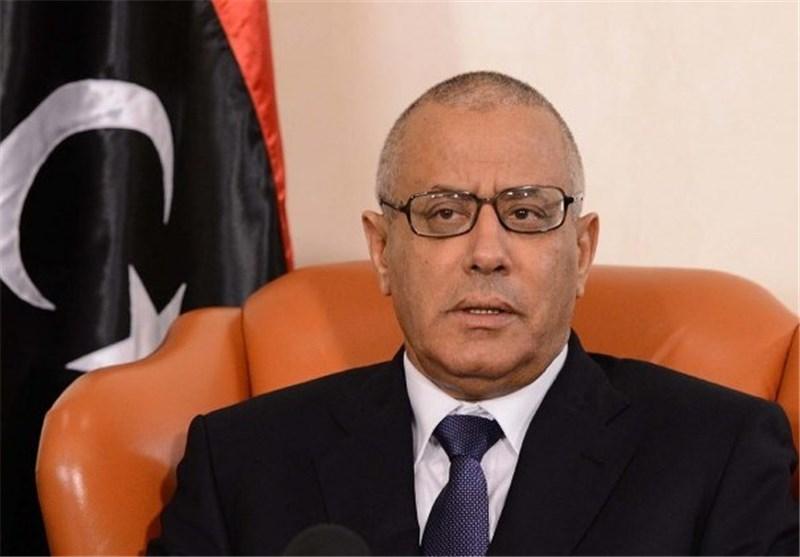 نخست وزیر لیبی با ولیعهد عربستان در کاخ الیمامه دیدار کرد