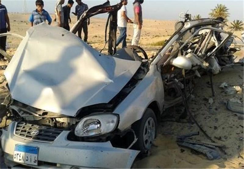 کشته شدن 2 شبهنظامی در انفجار بمبی در صحرای سینا