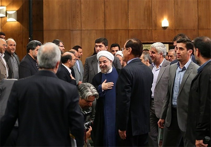 President Rouhani: Iran to Maintain Peaceful Interaction with World
