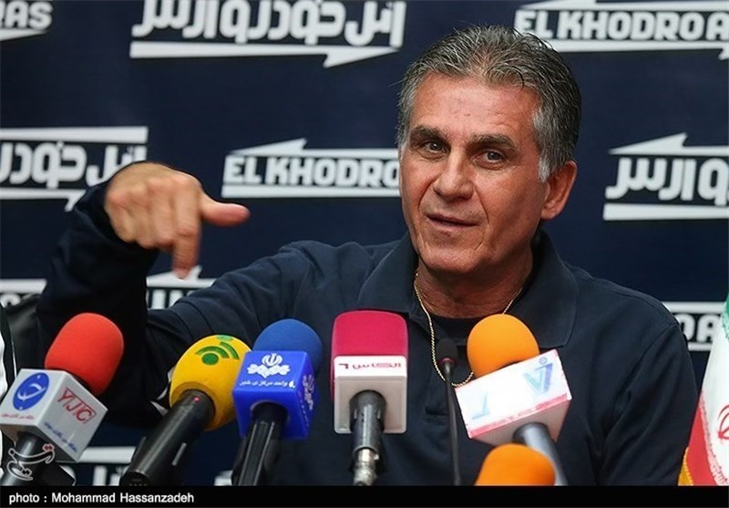 Iranian Football Coach Pleased with FIFA World Cup Draw