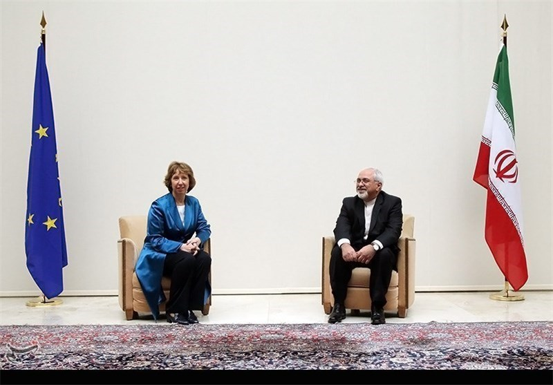 Iran's Zarif, EU's Ashton Meet in Geneva