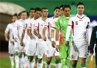 تیم ملی ایران باروبان مشکی بازی میکنند
