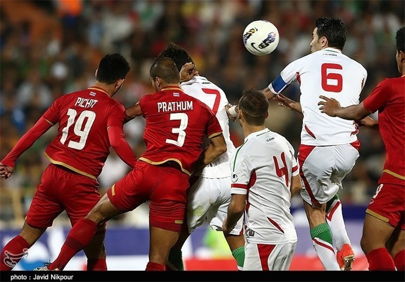 Iran Edges Thailand 2-1 in Asia Cup Qualifier