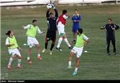 تمرینات تیم های ملی ایران و کره جنوبی در کیش آغاز شد