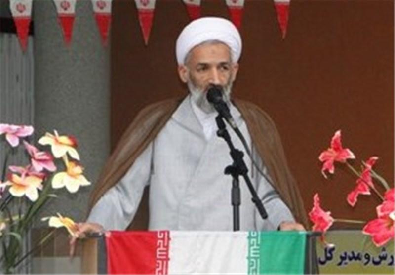 مراسم استقبال از نماینده ولیفقیه در استان مازندران برگزار شد