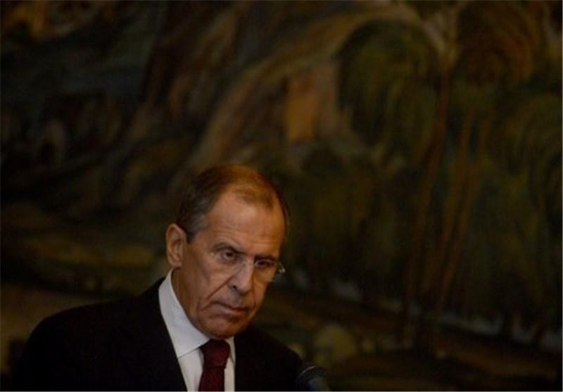 لافروف : الوضع فی سوریا جعل مبدأ عدم استخدام القوة أمرا مهما للغایة