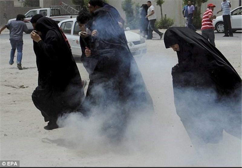گاز اشکآور بحرین 4
