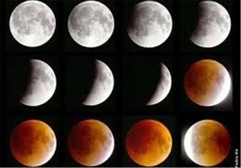 معهد البحوث الفلکیة : خسوف کلی للقمر الثلاثاء القادم