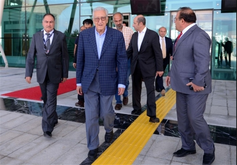 Brahimi Arrives in Tehran