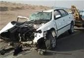 21 نفر در تصادف زنجیرهای کمربندی قم مصدوم شدند
