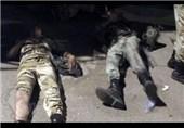 سربازان مصری مجروح شده