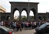 تظاهرات هواداران مرسی در الازهر