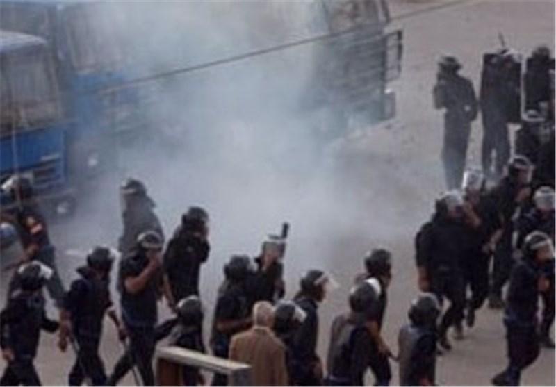 درگیری دانشجویان دانشگاه الازهر و پلیس مصر